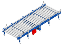 Roller conveyors: The King of wooden palette conveyors