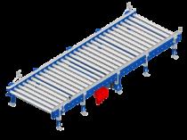 Convoyeur à rouleaux: le transporteur roi de la palette bois