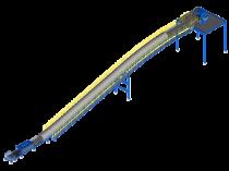 Convoyeur à bande: le transporteur roi des matériaux en vrac pour les cimenteries