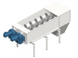 Screw conveyor: designed for alternative fuels of fine granulometry