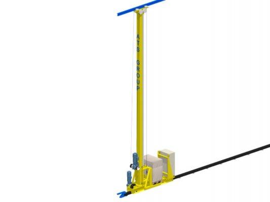Stacker crane 1 mast