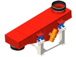 Vibrating conveyor: for extreme conditions in cement works