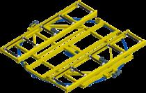 Table pivotante pour manutention de skid: la rotation maitrisée