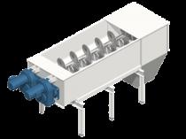 Schneckenförderer: ausgelegt für alternative Brennstoffe mit Feingranulometrie