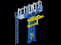 Elévateur P&F : le convoyeur vertical adapté au Power and Free
