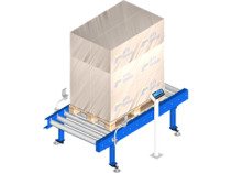 Pallet weighing system: to check the conformity of the load