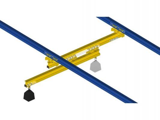 Telescopic crane 250KG