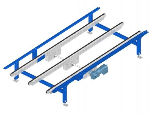 3 strands chain conveyor TAPL duplex