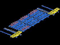 Skidfördersystem: Modulare Logistik