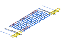 Skids handling system: modular logistics