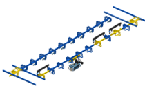 Friction drive conveyor: clean and quiet