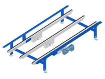 Chain conveyors: the reference in the world of material handling