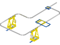 EMS loop: the autonomous and modular overhead system