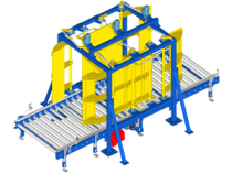 Pallet squaring unit: quality assurance of palletizing