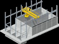 Gestion de stock automatisé par pont grappin: assurer un flux constant de combustibles alternatifs