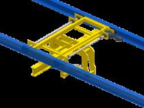 Transbordeur pour convoyeur aérien à friction : gérer le flux parallèle