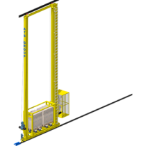 Stacker crane: automated and optimized storage