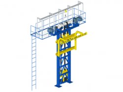 Elevator P&F: the vertical conveyor suitable for Power & Free