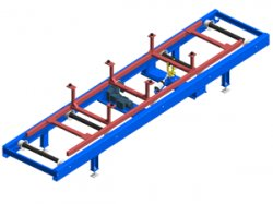 Skid clamping unit: precise positioning of your skids