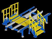 Stairway: Safe conveyor crossing