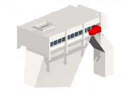 Screening machine: safety by selectively separating the grain sizes of your alternative fuels