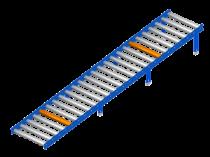 Gravity conveyor: the dynamic pallets storage