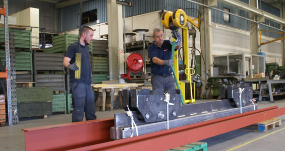 Assembly, installation and commissioning of your conveyors and other handling systems